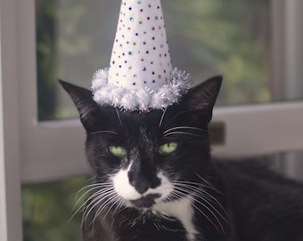 Kitty Sparkle Party Hat