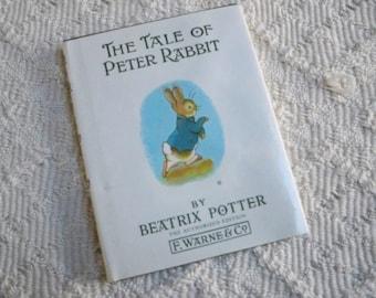 "Vintage Books Children Beatrix Potter Book ""The Tale of Peter Rabbit"""