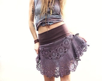 Lace skirt Pastel