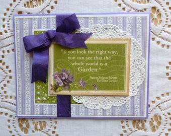Secret Garden Greeting Card, Graphic 45