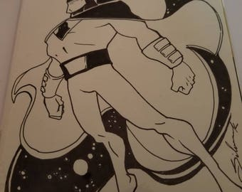 Space Ghost sketch cover