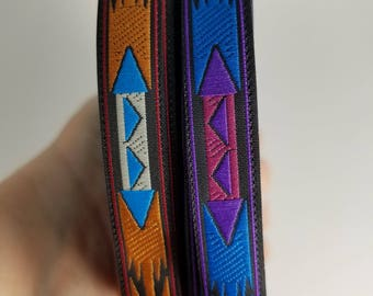 Apache Native Woven Fabric Trim 1/2 inch wide sold by the yard