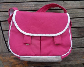 BAG / Messenger Fuschia