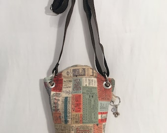 Cross Body Bag, Bag, Purse, Cell Phone Bag, Handbag, Hands Free Shopping, Postage, Travel, Small Purse, Multi Color