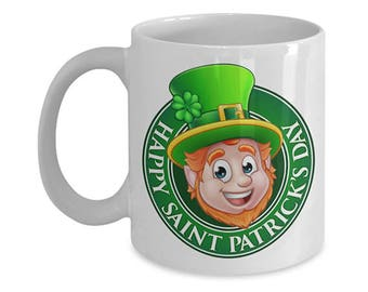 Happy St. Patrick's Day, Irish Coffee Mug
