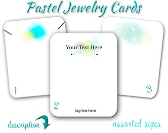 Custom Jewelry Cards,  Hang Tag, Bracelet Tag, Personalized, Earring Holder, Wedding Favor Tags, Fold Over Tag, Earring Cards, Display Cards