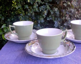 Heritage cups and saucers