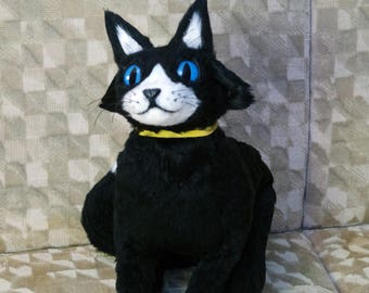 Morgana Cat Form Doll Persona 5 Art Doll Moveable Cosplay