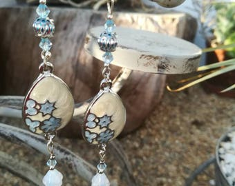 Long earrings, Earrings, handmade jewellery, made in Portugal, jewelry, Made4You