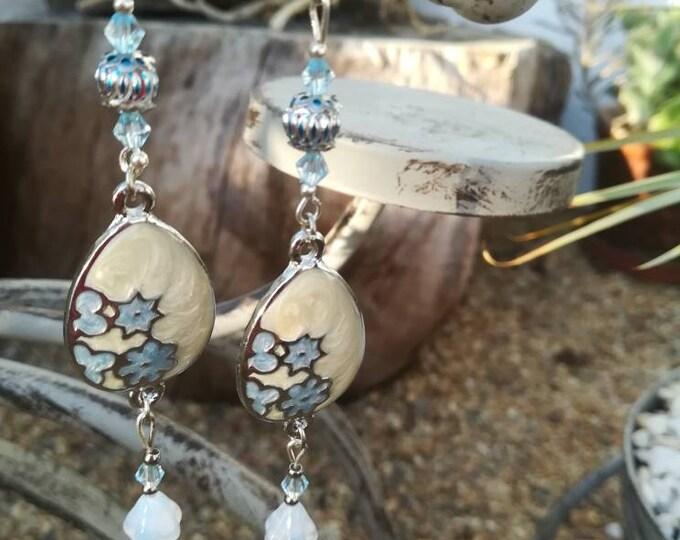 Long earrings, Earrings, handmade jewellery, made in Portugal, jewelry, Made4You