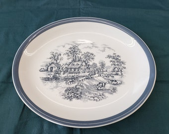 Alfred Meakin Home in the Country 12 x 10 inch dish