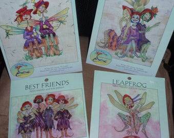 Red Hat Society  Fabric Transfer and Tote Patterns  by Trish Stuart   NEW