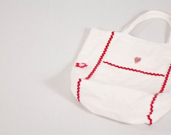 GL Crafts: Upcycled, Tote Bag, Cotton, Handmade