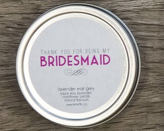 Thanks Bridesmaid - Bridesmaid Gift - Thank You Bridesmaids - Bridesmaid Present - Morning After Kit - Thanks for Being My Bridesmaid