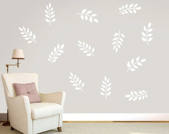 Leafy Branches - Trees and Branches Wall Decals