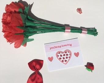 you're my love bug - handmade punny card - greeting card