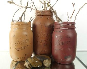Autumn Decor, Mason Jar Centerpieces, Thanksgiving Decor, Fall Decor, Autumn Decorations, Rustic Home Decor, Country Home Decor