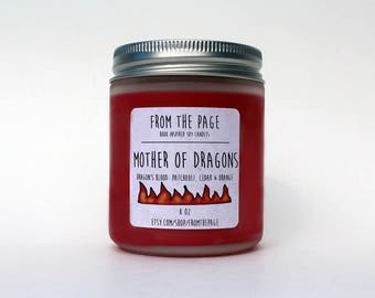 Mother of Dragons Soy Candle - 8 oz