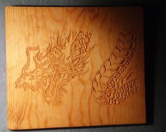 Dragon on Pine
