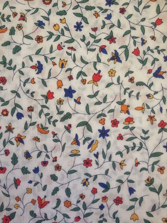 Tana lawn fabric from Liberty of London, Cathy