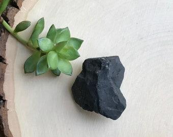 Rare Raw Shungite Crystal Specimen - Large Shungite Chunk - Karelia Shungite Mineral Specimen - Purifying Crystal - Shungite Healing Crystal