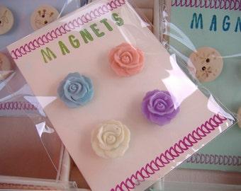 Fabulous flowers fridge magnets