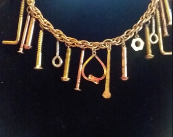 Nuts and Bolts the Working Women's Necklace