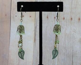 Bellflower Faerie Earrings