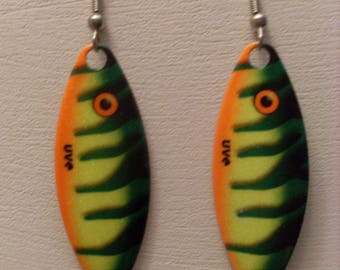 "Earrings ""edition special fish"" 1"
