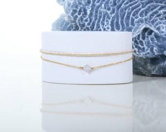 Heka - Pearl woven bracelet