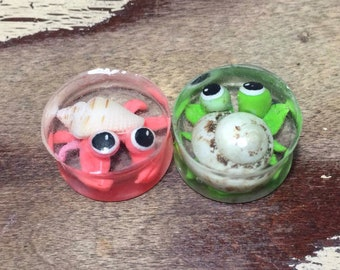 Hermit Crab Plugs Stretch Gauges