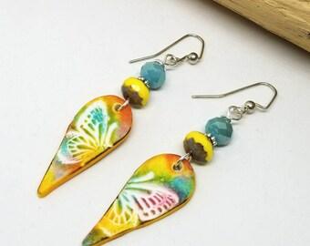 Boho Butterfly Earrings - Boho Earrings - Bohemian Earrings - Butterfly Earrings - Gifts for Her
