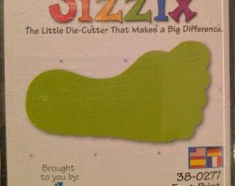 Sizzix Foot Print #38-0277 NEW!