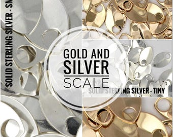 24K Gold or Sterling Silver Scale