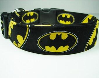 Batman Logo Dog Collar
