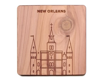 New Orleans Coaster - St. Louis Cathedral