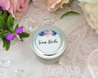 Team Bride, Hen Party Favors, Bridal Shower Favors,  Bachelorette Party Favours, Candle Favours, Wedding Shower Favors, Party Decorations