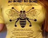 Vegan T-Shirt Honey Bee T...