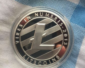 Litecoin coin  not bitcoin eth ripple menero dash