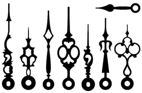 vintage victorian steampunk clock hands vectors clip art rh etsy com steampunk clip art letters steampunk clipart free