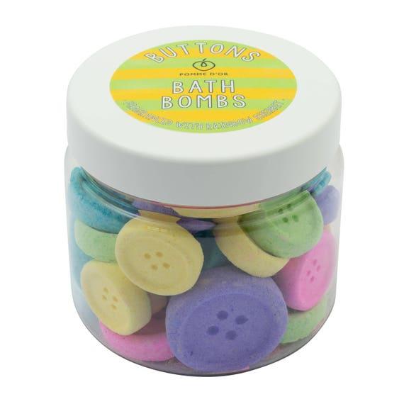 Button Bath Bombs - kind to sensitive skin