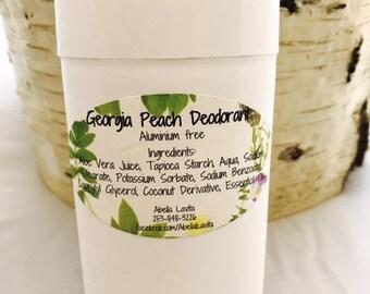 Georgia Peach Deodorant