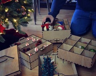 Christmas Ornament Storage System