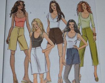 Butterick B5036 Skirt, Shorts, Pants Sewing Pattern - UNCUT - Sizes 16-18-20-22