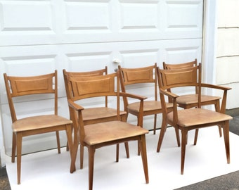 Heywood Wakefield Dining Room Chairs