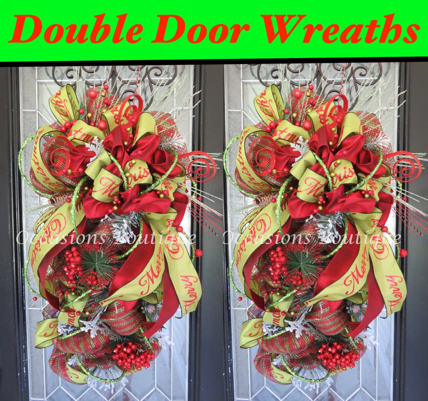 pin and pinterest door get christmas diy wreaths by decorations caldwell amy doors on crafty n