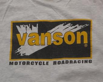 vintage Vanson leathers t shirt