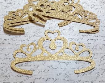 Large Die cut Tiaras/Princess Crowns.        #B-39