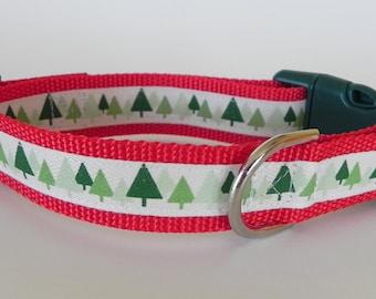 Natural Christmas Tree Dog Collar