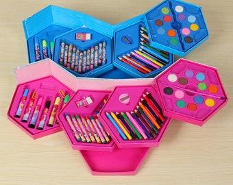 46pcs Kids Stationery Paint Set
